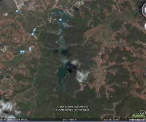 普洱茶城思茅(普洱)卫星图