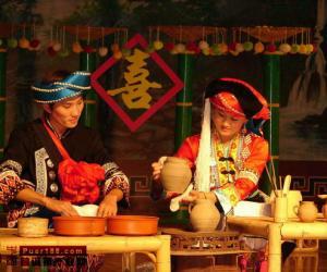 云南普洱茶与原始宗教